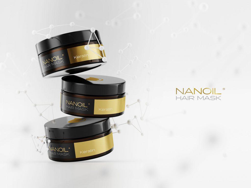 top masks with keratin Nanoil