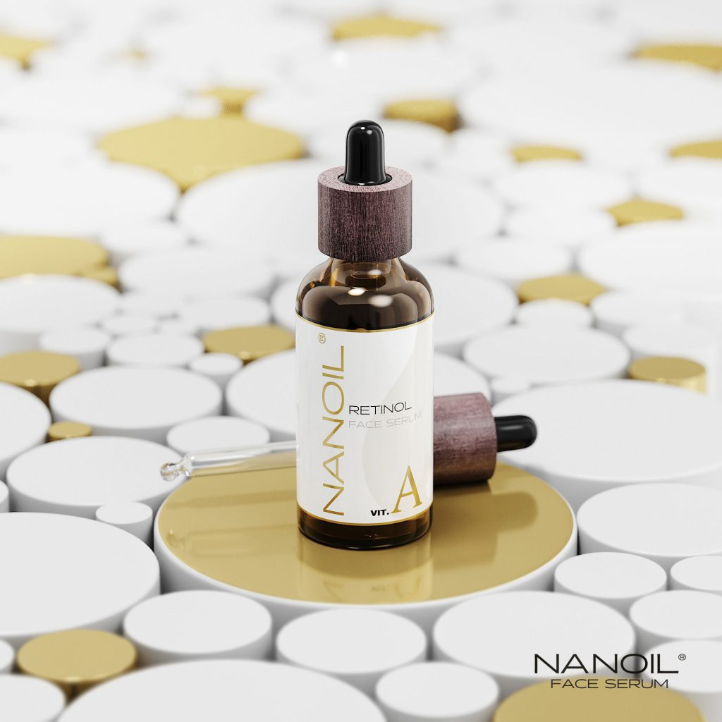 Nanoil the best face serum with retinol